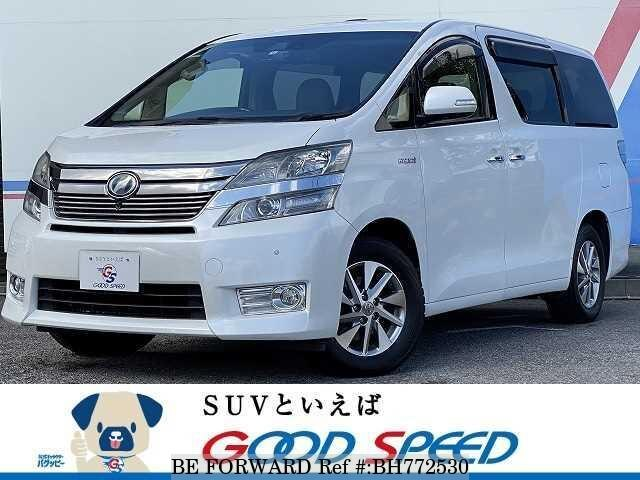 Used 2012 TOYOTA VELLFIRE HYBRID BH772530 for Sale
