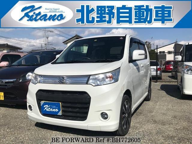 Used 2012 SUZUKI WAGON R BH772605 for Sale