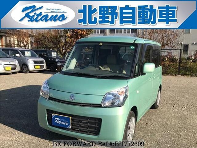 Used 2013 SUZUKI SPACIA BH772609 for Sale