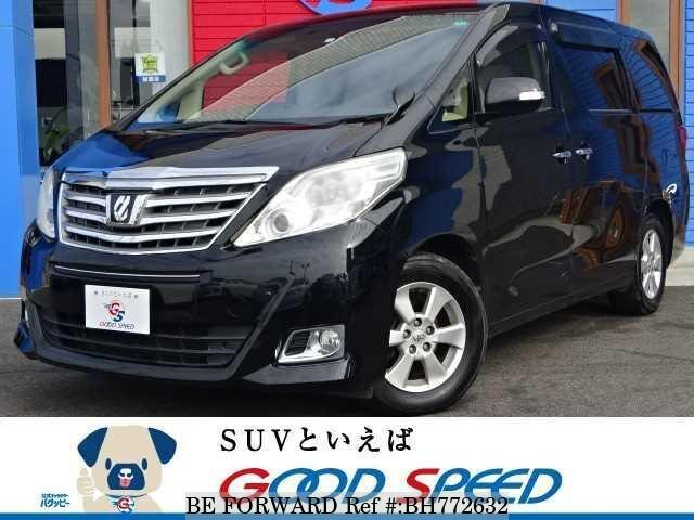 Used 2012 TOYOTA ALPHARD BH772632 for Sale