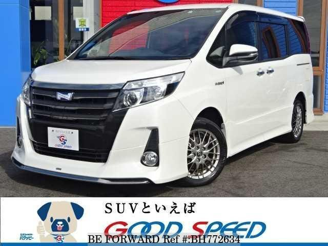 Used 2017 TOYOTA NOAH BH772634 for Sale