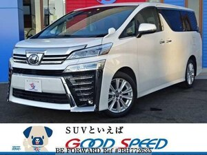 Used 2018 TOYOTA VELLFIRE BH772635 for Sale