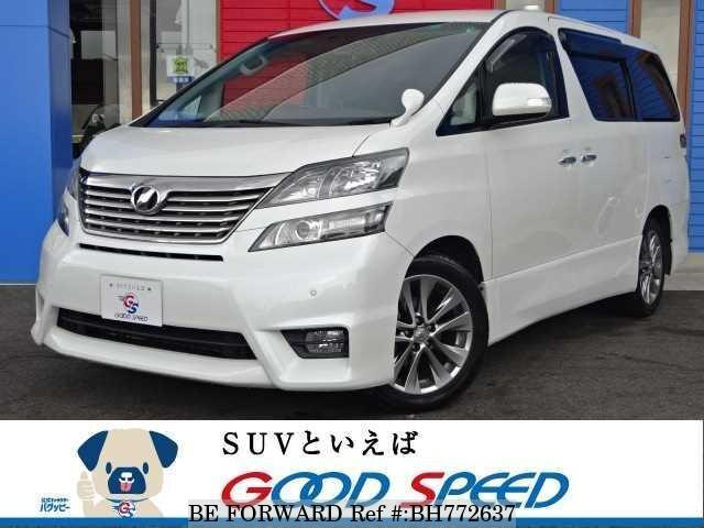 Used 2010 TOYOTA VELLFIRE BH772637 for Sale