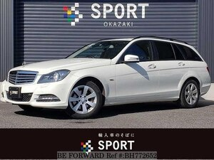 Used 2012 MERCEDES-BENZ C-CLASS BH772652 for Sale