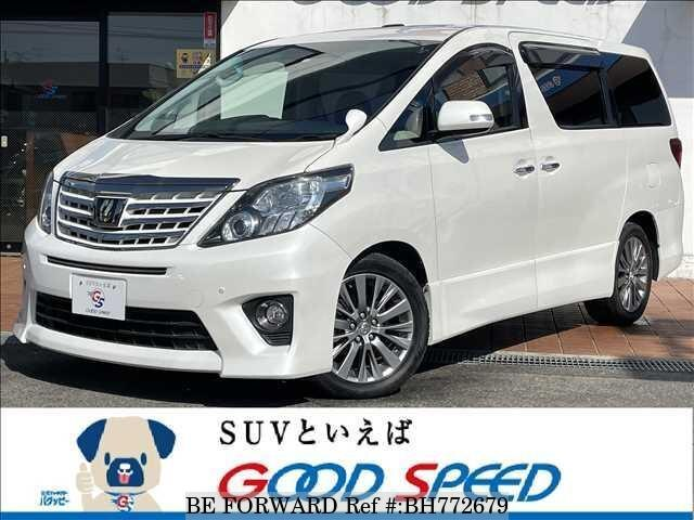 Used 2014 TOYOTA ALPHARD BH772679 for Sale