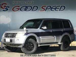 Used 2007 MITSUBISHI PAJERO BH772693 for Sale