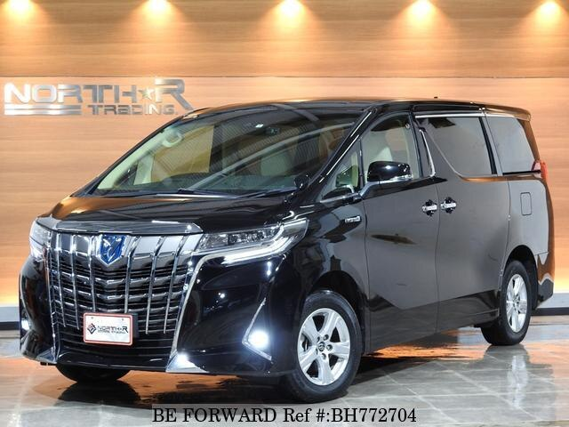 Used 2019 TOYOTA ALPHARD HYBRID BH772704 for Sale