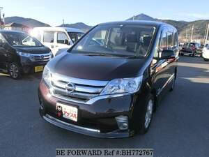 Used 2012 NISSAN SERENA BH772767 for Sale