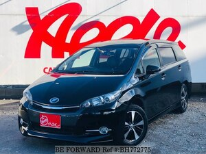 Used 2014 TOYOTA WISH BH772775 for Sale