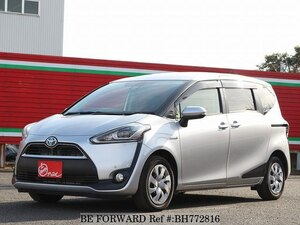 Used 2018 TOYOTA SIENTA BH772816 for Sale