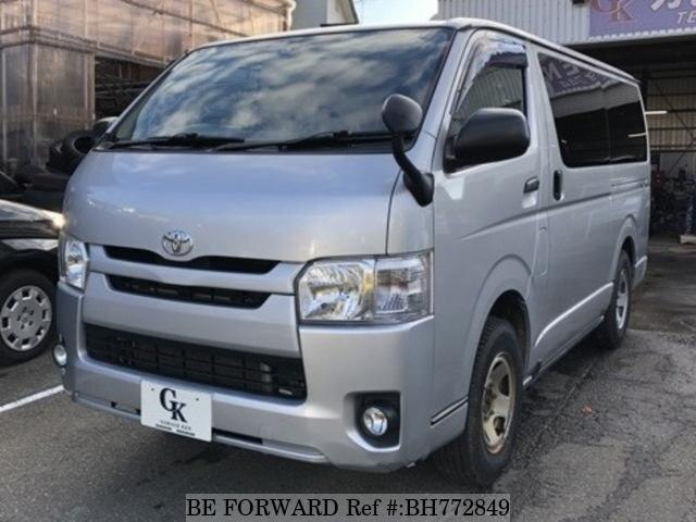 Used 2014 TOYOTA HIACE VAN BH772849 for Sale