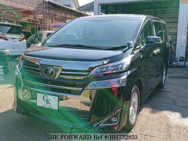 Used 2018 TOYOTA VELLFIRE BH772853 for Sale