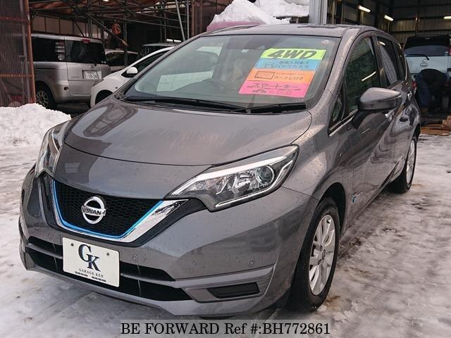 Used 2018 NISSAN NOTE BH772861 for Sale