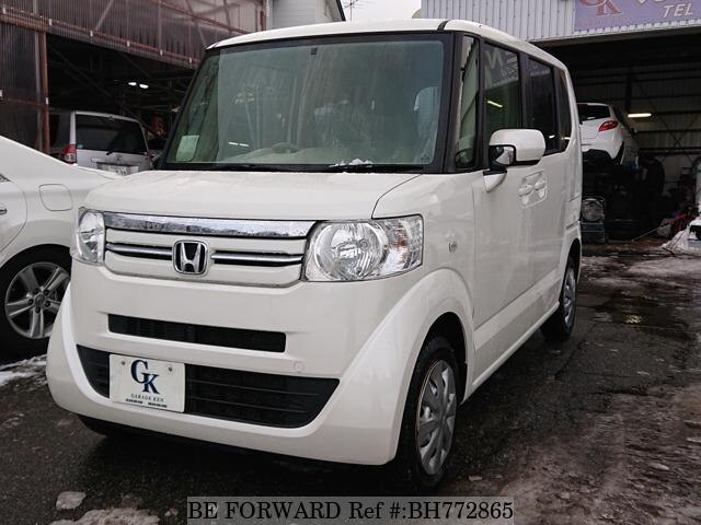Used 2015 HONDA N BOX BH772865 for Sale