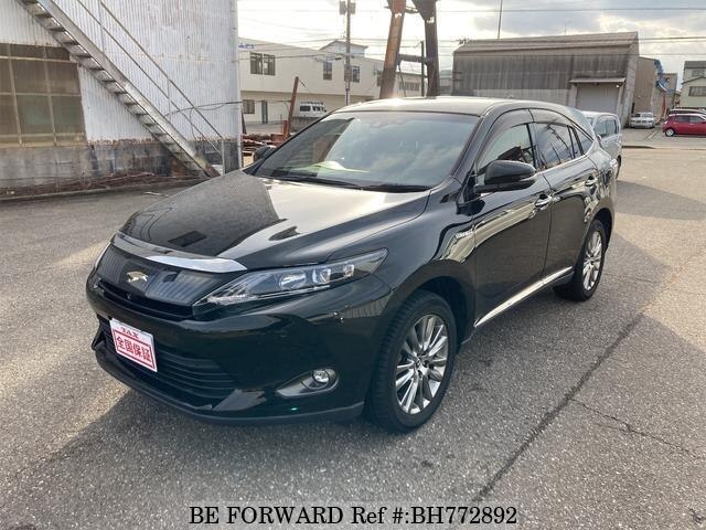 Used 2014 TOYOTA HARRIER HYBRID BH772892 for Sale