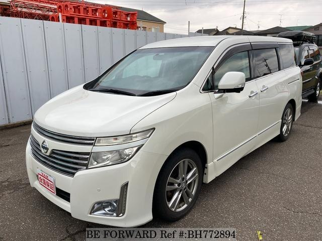 Used 2010 NISSAN ELGRAND BH772894 for Sale