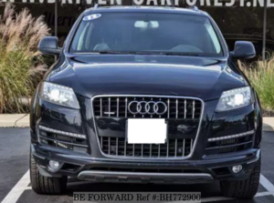 Used 2012 AUDI Q7 BH772900 for Sale
