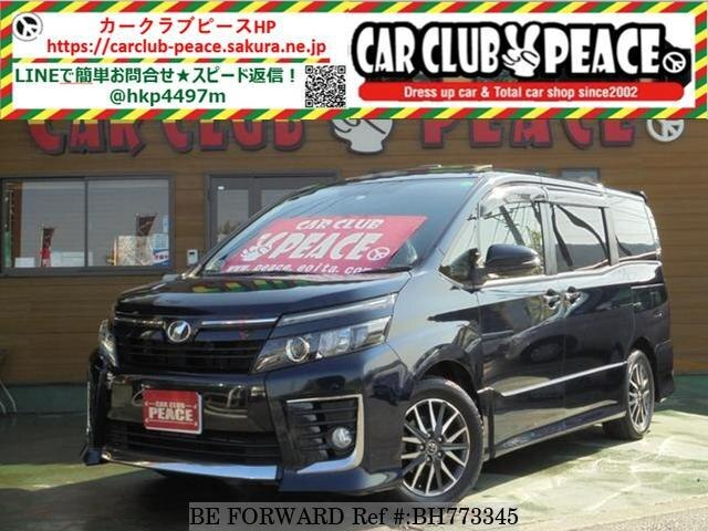 Used 2014 TOYOTA VOXY BH773345 for Sale