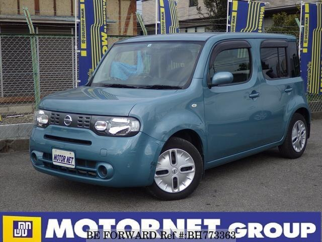 Used 2012 NISSAN CUBE BH773363 for Sale
