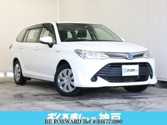 Used 2016 TOYOTA COROLLA FIELDER BH773390 for Sale
