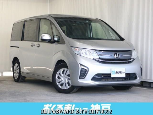 Used 2015 HONDA STEP WGN BH773392 for Sale