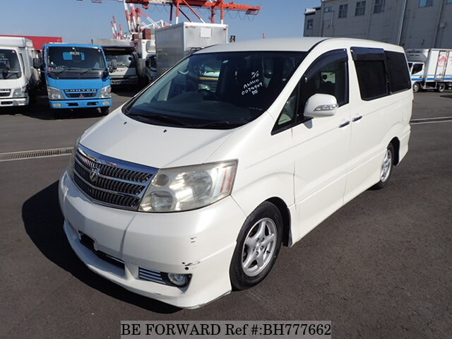 Used 2004 TOYOTA ALPHARD BH777662 for Sale
