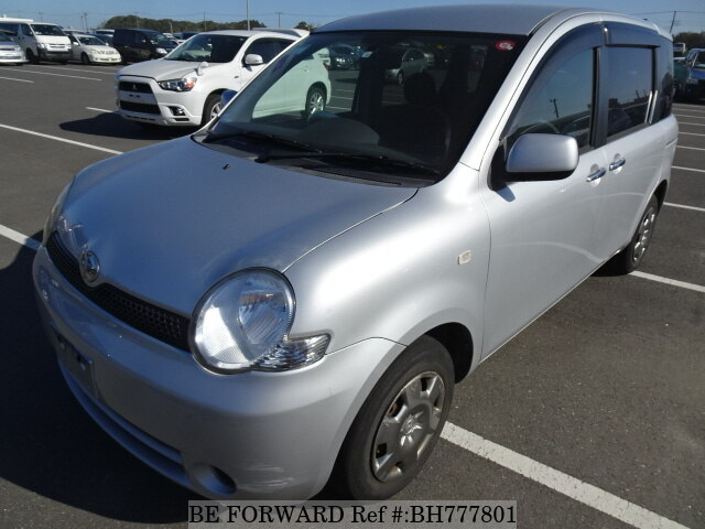 Used 2006 TOYOTA SIENTA BH777801 for Sale