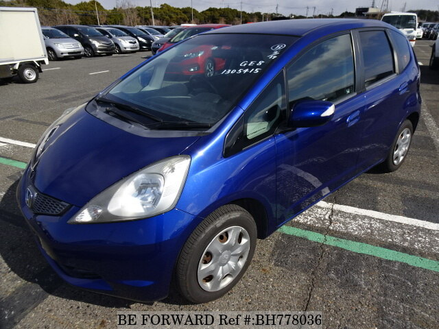 Used 2010 HONDA FIT BH778036 for Sale