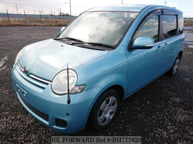 Used 2009 TOYOTA SIENTA BH777829 for Sale