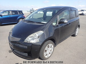Used 2008 TOYOTA RACTIS BH781059 for Sale