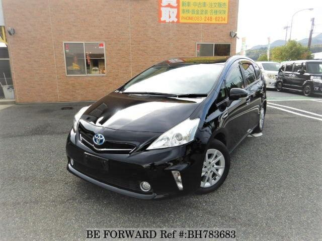 Used 2012 TOYOTA PRIUS ALPHA BH783683 for Sale