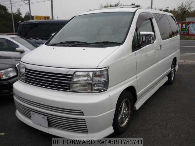 Used 1999 NISSAN ELGRAND BH783741 for Sale