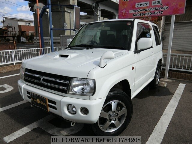 Used 2008 MITSUBISHI PAJERO MINI BH784208 for Sale