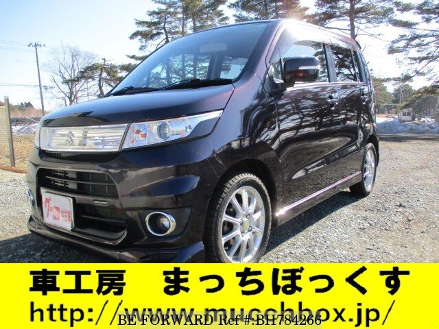 Used 2009 SUZUKI WAGON R BH784266 for Sale