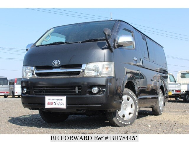 Used 2007 TOYOTA HIACE VAN BH784451 for Sale