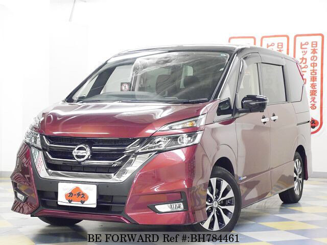 Used 2017 NISSAN SERENA BH784461 for Sale