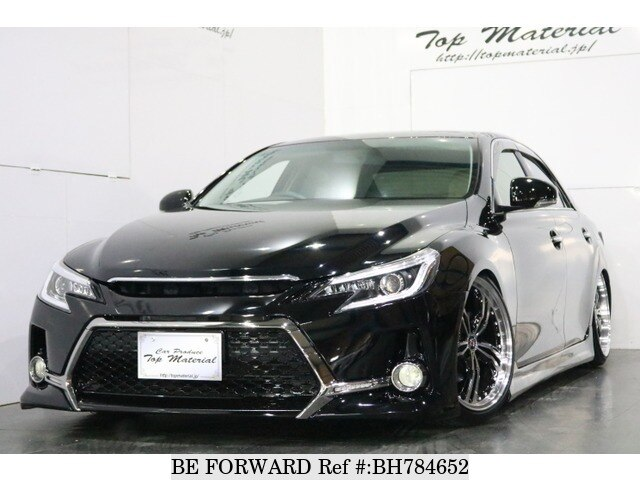 Used 2012 TOYOTA MARK X BH784652 for Sale