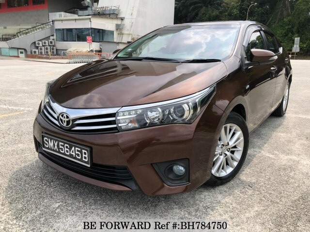 Used 2014 TOYOTA COROLLA ALTIS BH784750 for Sale