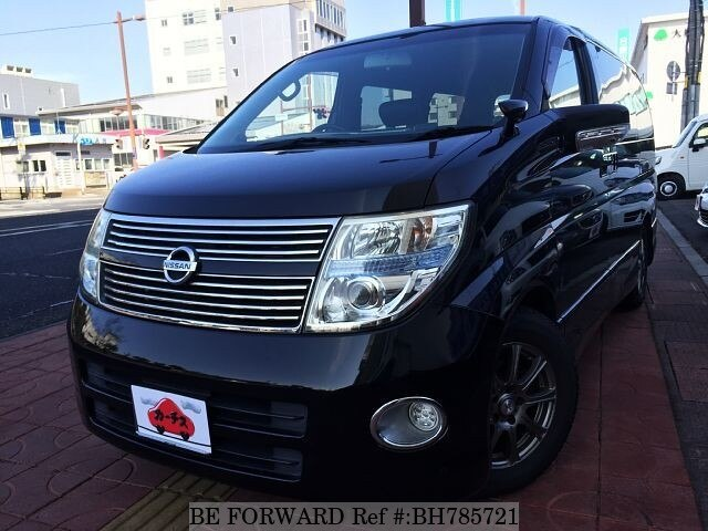 Used 2007 NISSAN ELGRAND BH785721 for Sale