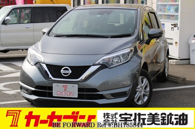 Used 2018 NISSAN NOTE BH785844 for Sale