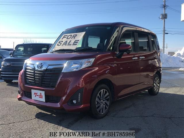 Used 2020 TOYOTA ROOMY BH785986 for Sale