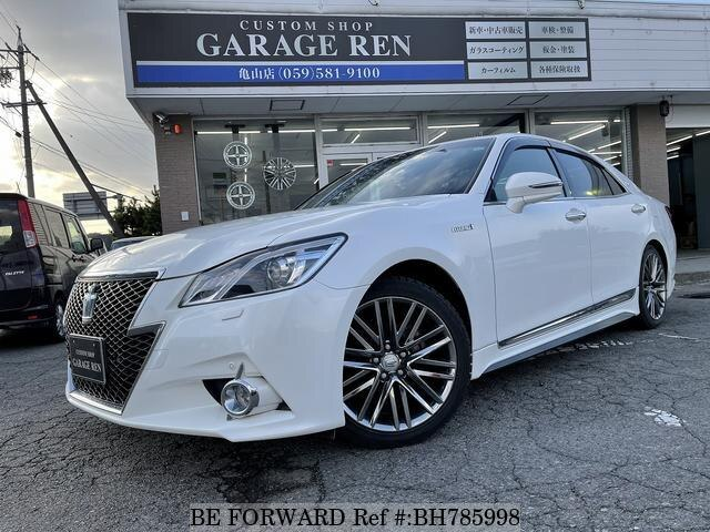 Used 2014 TOYOTA CROWN HYBRID BH785998 for Sale