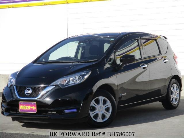 Used 2018 NISSAN NOTE BH786007 for Sale