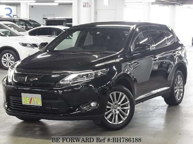 Used 2016 TOYOTA HARRIER BH786188 for Sale