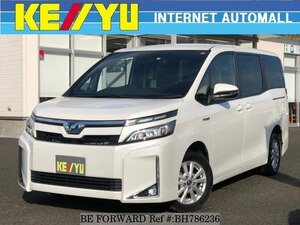 Used 2017 TOYOTA VOXY BH786236 for Sale