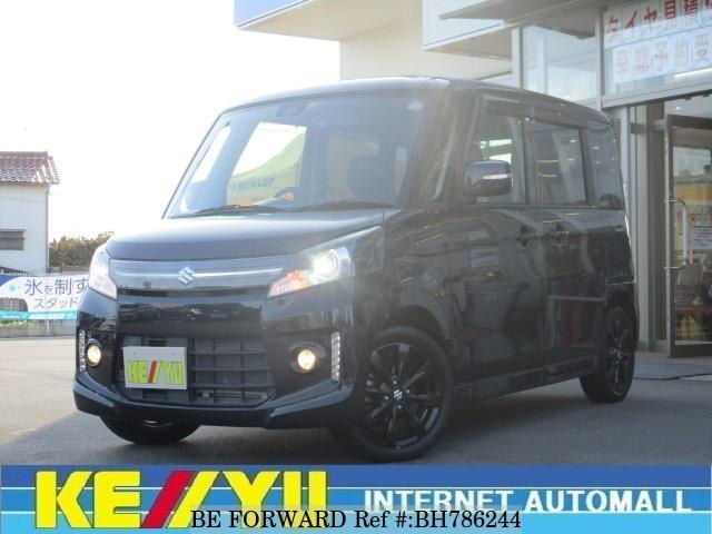 Used 2014 SUZUKI SPACIA BH786244 for Sale