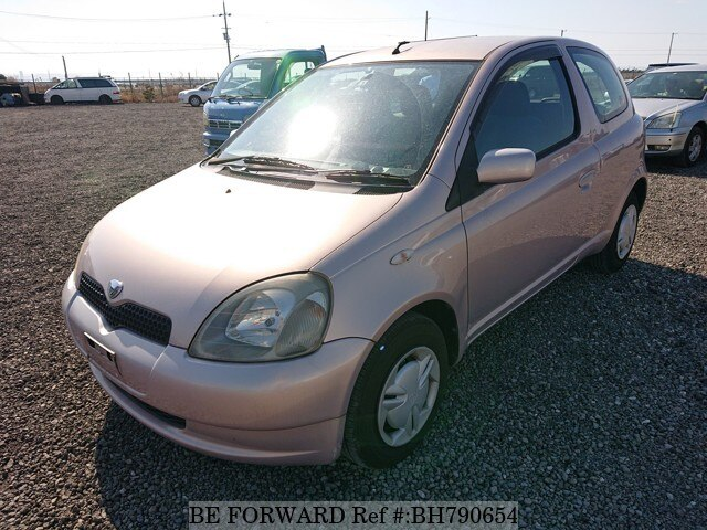 Used 2001 TOYOTA VITZ BH790654 for Sale