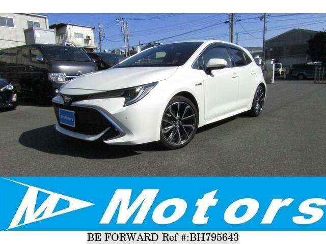 Used 2018 TOYOTA COROLLA BH795643 for Sale