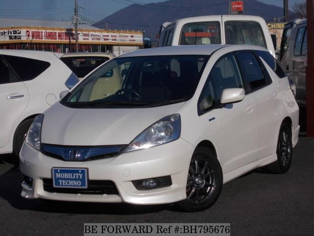 Used 2012 HONDA FIT SHUTTLE HYBRID BH795676 for Sale