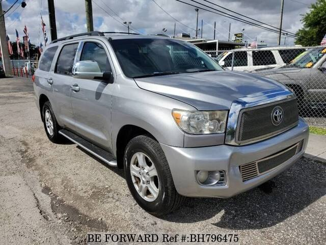 Used 2008 TOYOTA SEQUOIA BH796475 for Sale